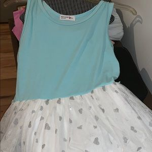 blue girls dress